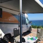Obytný vůz - na dovolené u moře
